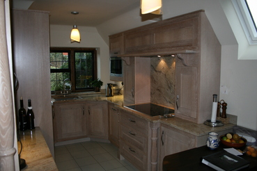 In Frame Limed Oak kitchen