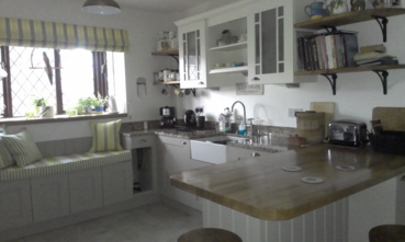 Handmade Painted Kitchen in Bespoke colours
